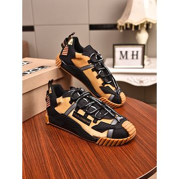 DOLCE&GABBANA Women's Men's 2020 New Fashion Casual Shoes Sneaker Sport Running Shoes