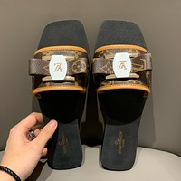 Louis Vuitton LV Monogram slide sandal