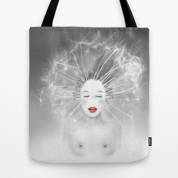 Connexion Tote Bag by LilaVert   Society6