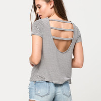 FULL TILT Bar Strap Womens Tee | Knit Tops & Tees