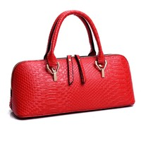 Alligator Leather Tote Handbag for Women
