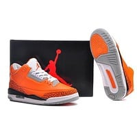 Air Jordan 3 Retro Aj3 318376 688 Men Basketball Shoes