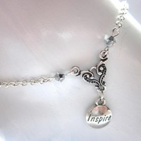 INSPIRE Anklet, Summer Jewelry on Luulla