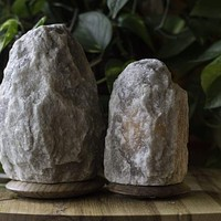 HIMALAYAN GREY SALT LIGHT SET - RARE