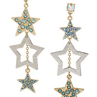 STARGAZER STAR LINEAR EARRING