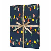 Holiday Lights Wrapping Sheets