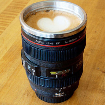 Unique Camera Lens Coffee Mug Gift