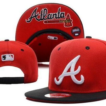 Perfect MLB Atlanta Braves Snapback hats Women Men Embroidery Sports Sun Hat Baseball Cap Hat