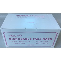 Face Mask 50 PCS/Box - Pink (SHIPPING FROM USA _ within 3 Business Days )