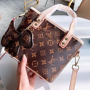 Bunchsun Louis Vuitton LV Women Fashion Shopping Bag Handbag Tote Shoulder Bag Crossbody Satchel