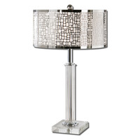 Uttermost Lucius Crystal Column Table Lamp - 26578-1