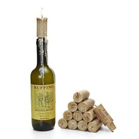 Set of (6) Wax Wine Cork Candles