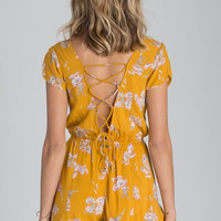 Billabong - Sweet Escape Romper | Honey
