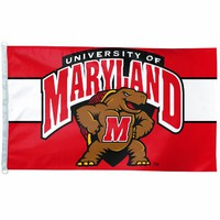 NCAA Maryland Terps 3-by-5 foot Flag