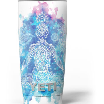 Bright Oil Yoga Mood Yeti Rambler Skin Kit