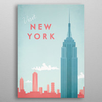 New York by Henry Rivers | Displate