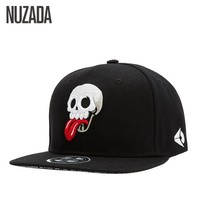 Trendy Winter Jacket Brands NUZADA Men Women Baseball Cap Caps Snapback bone Hat Hats Hip Hop Skull Punk Fashion Embroidery cotton jt-105 AT_92_12