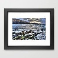 Before the storm Framed Art Print by Haroulita | Society6