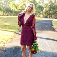 Sweeter Than Wine Lace Dress