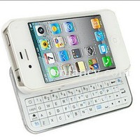 White Bluetooth Keyboard Case