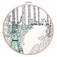 Coming Home Embroidery Kit