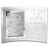 Disney Personalizable Beauty and the Beast Glass Frame by Arribas   Disney Store
