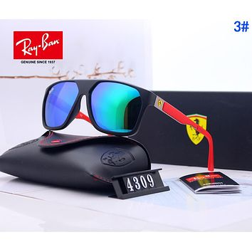 RayBan Ray-Ban x Ferrari Fashion Men Women Cool Summer Sun Shades Eyeglasses Glasses Sunglasses 3#