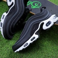 Best Online Sale Nike Air Max Plus 97 TN Black/Anthracite White Sneakers Trainers AH8143-001