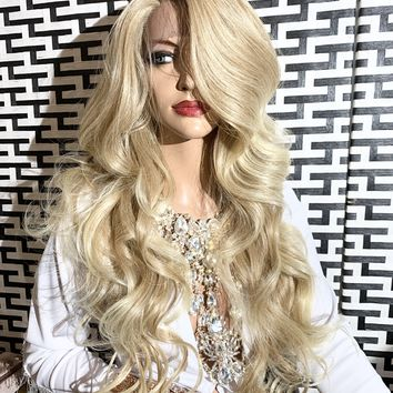 PERFECT BLONDIE lace front wig 1119