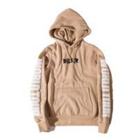Autumn and winter tide brand JB FOG than the same paragraph with the Ka Kaorong couple models Hooded sweater jacket