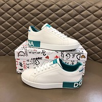 Dolce&Gabbana2021 Men Fashion Boots fashionable Casual leather Breathable Sneakers Running Shoes06120cx