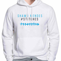 Shawn Mendes Stitches Music Hoodie -tr3 Hoodies for Man and Woman