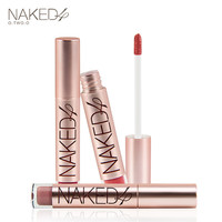 Naked Matte Color Lip Gloss Easy to Wear Long Lasting Lips kit Lipstick Liquid Lipgloss cosmetics