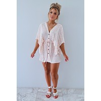Good Intentions Dress: Blush/Ivory