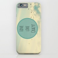 Love Like Crazy iPhone & iPod Case by RDelean