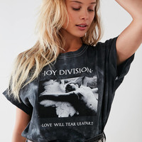Joy Division Love Will Tear Us Apart Tie-Dye Tee | Urban Outfitters