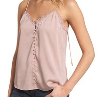 Chelsea28 Strappy Satin Camisole | Nordstrom