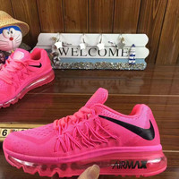 """""""NIKE"""" knitting fashion casual men shoes running shoes breathable couple shoes Roses"""