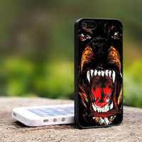 TB013 - Givenchy Rottweiler Print on Hard Cover For iPhone 4/4S Case and iPhone 5 Case (Black, White, Clear Colour Case)