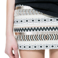 EMBROIDERED SKIRT - Skirts - TRF - ZARA United States