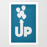UP - Minimalist Poster 01 Art Print by Misery