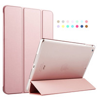 ZOYU Luxury PU leather case for iPad air , For iPad 5 case cover, new smart cover Magnetic Auto Wake Up Sleep Flip Leather case