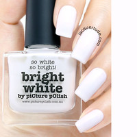 Picture Polish Bright White Nail Polish