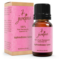 7 Jardins Aphrodisiac Love Essential Oil Blend- 100% Pure, No Dilution, No Fillers Added