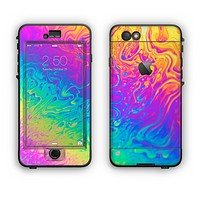 The Neon Color Fushion V2 Apple iPhone 6 Plus LifeProof Nuud Case Skin Set