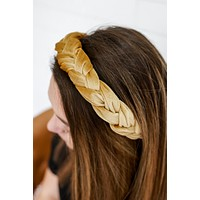 Here's My Advice Headband - Gold