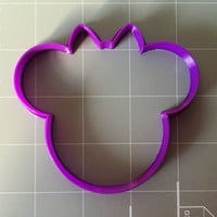 Happy Girl Mouse cookie cutter