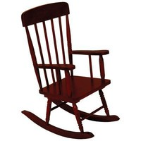 Kidkraft Spindle Rocking Chair - Cherry