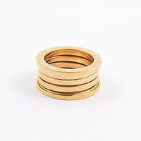Intionix Shop Fashion Mens Titanium Steel Spring Rings