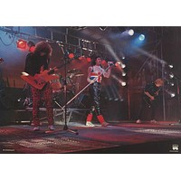 Def Leppard Live on Stage 1980's Poster 24x33